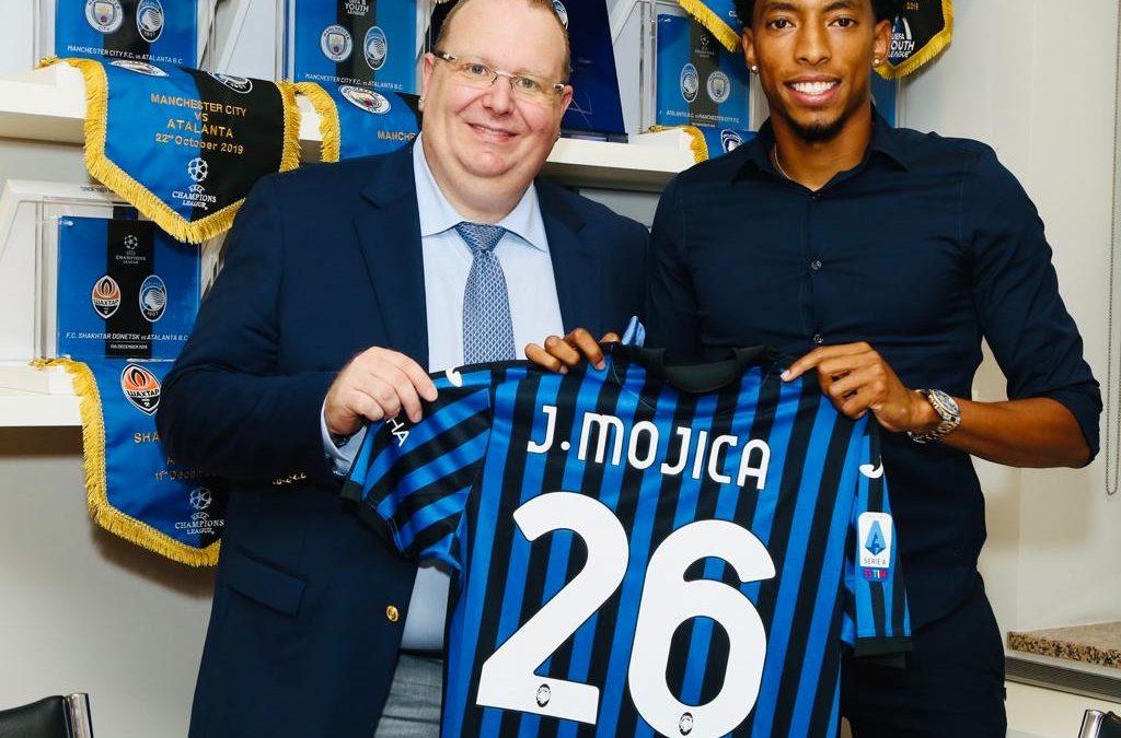 Johan Mojica signe à l'Atalanta Bergame | 22.09.2020