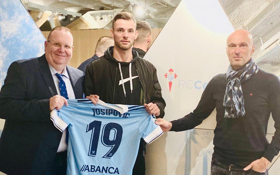 Zoran Josipovic signe au Celta Vigo | 23.10.2020