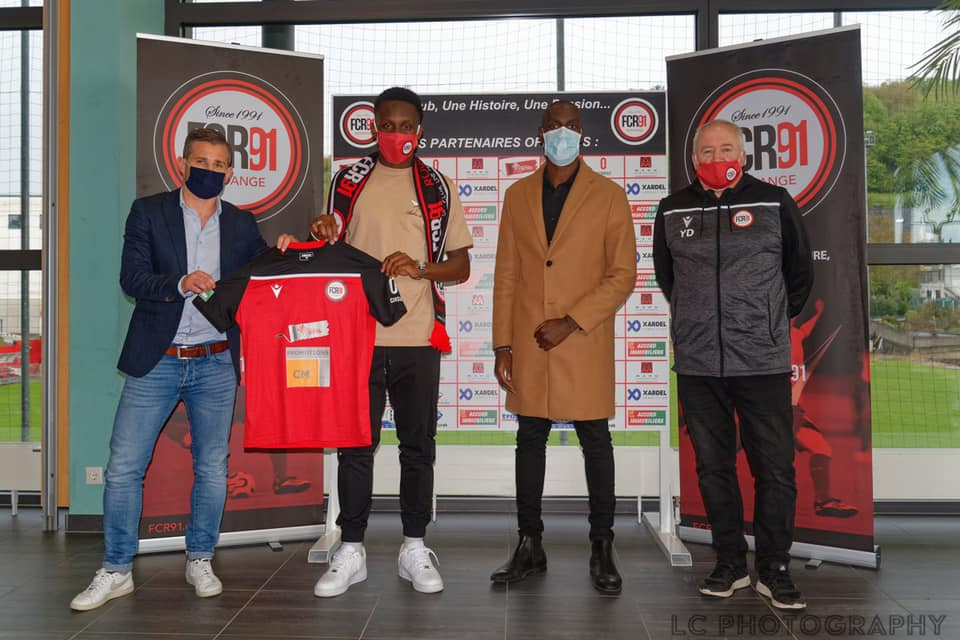 Steevy Nogbou rejoint le FC Rodange 91   19.05.2021